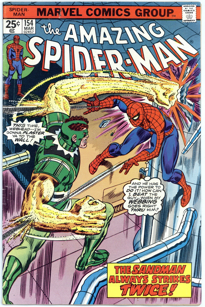 Amazing Spider-man #154 F/VF
