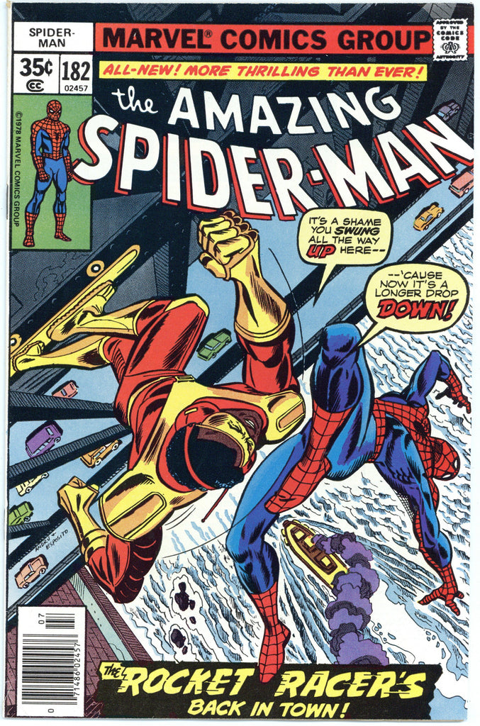 Amazing Spider-man #182 VF