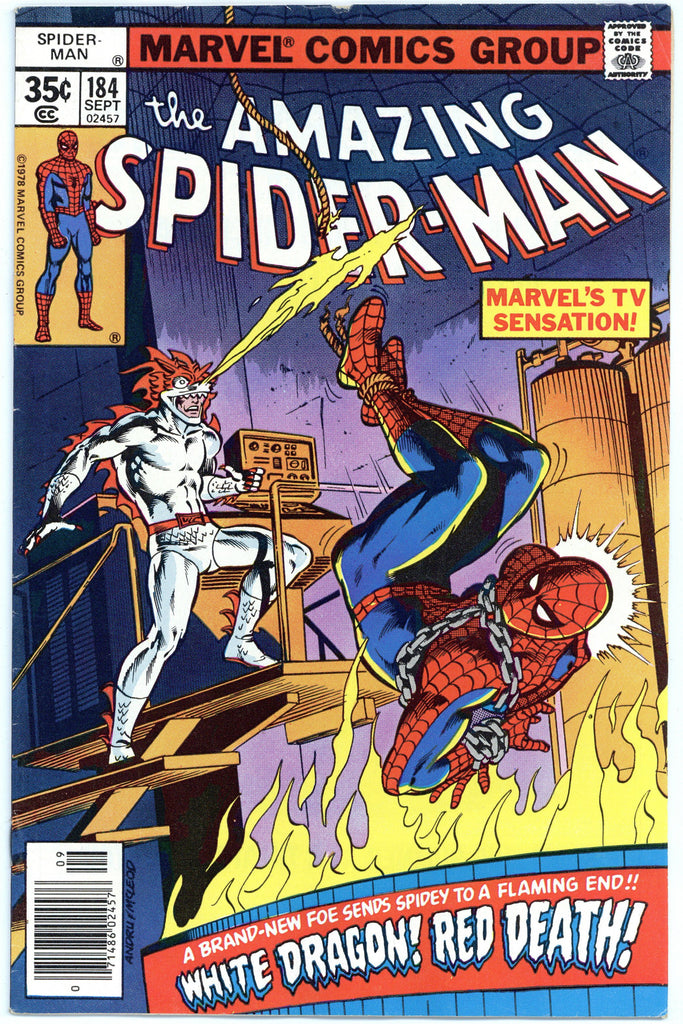 Amazing Spider-man #184 VF-