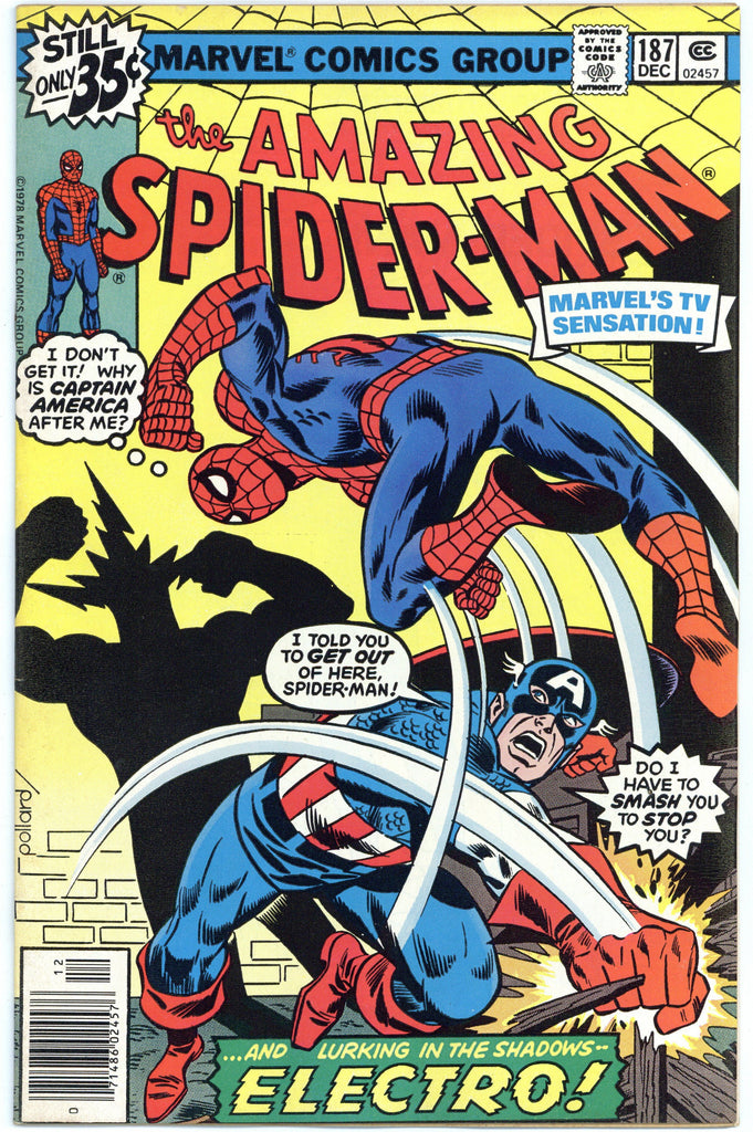 Amazing Spider-man #187 VF/NM