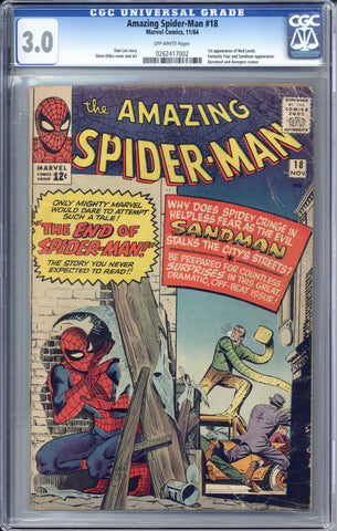 Colorado Comics - Amazing Spider-man #18  CGC 3.0