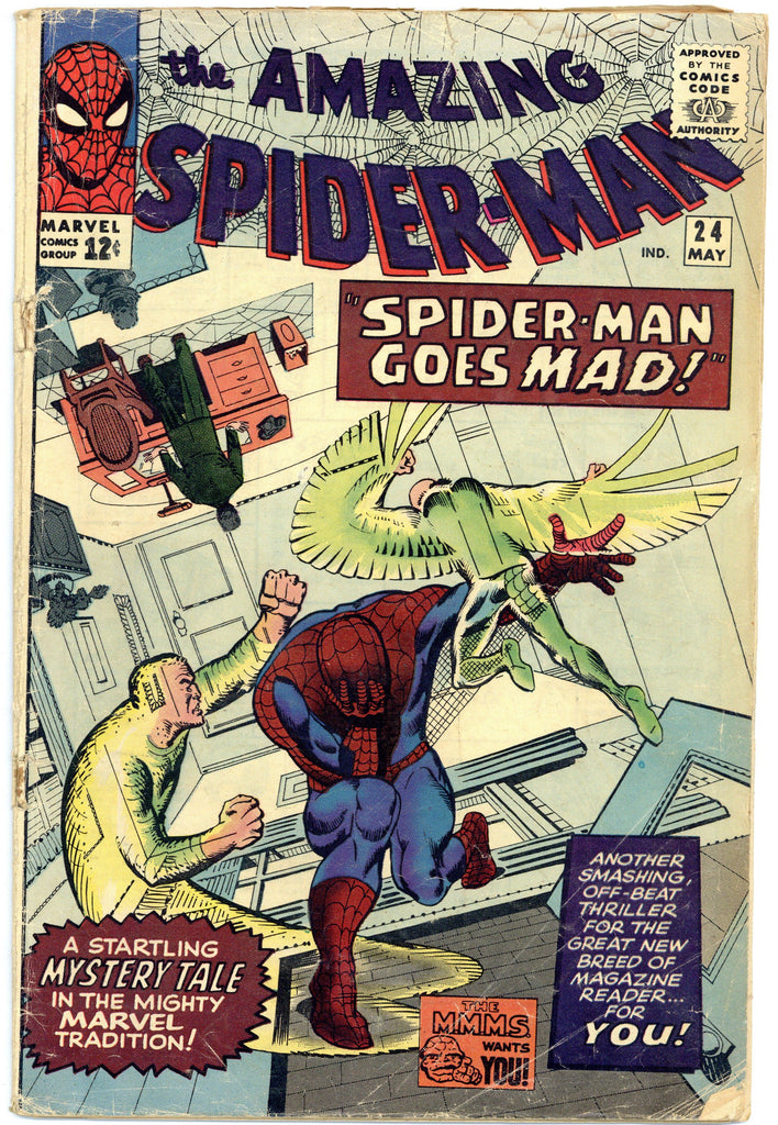 Amazing Spider-man #24 Good+