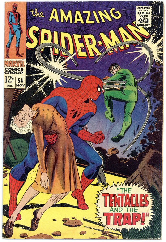 Amazing Spider-man #54 VG/F