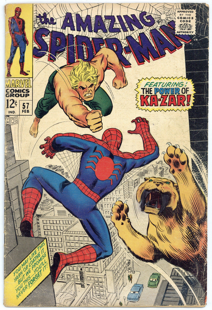 Colorado Comics - Amazing Spider-man #57 VG