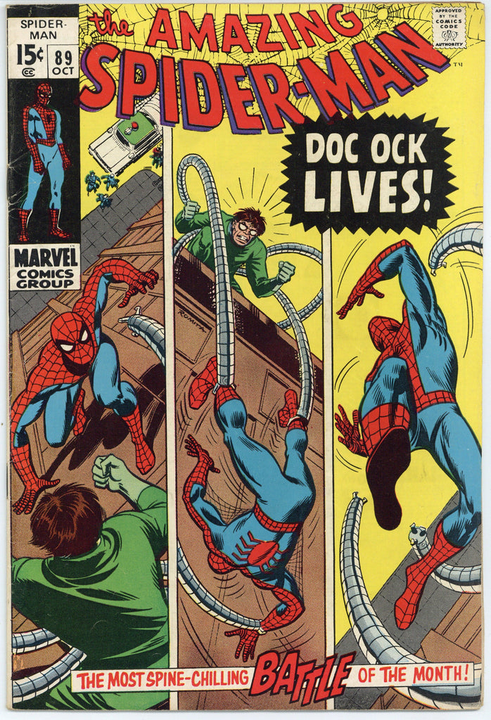 Amazing Spider-man #89 Fine-