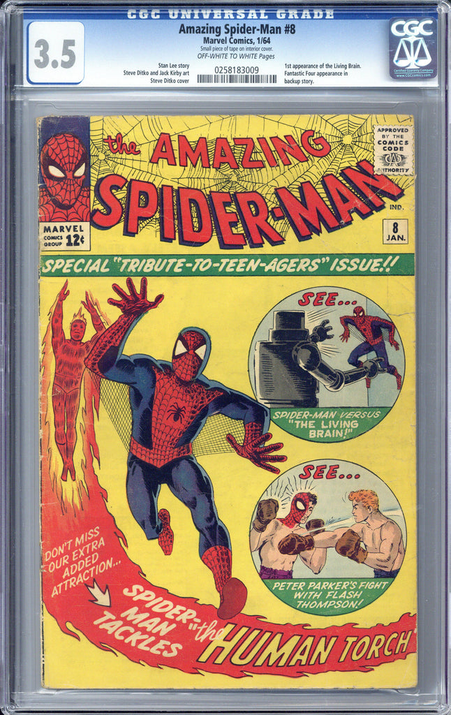 Colorado Comics - Amazing Spider-man #8  CGC 3.5