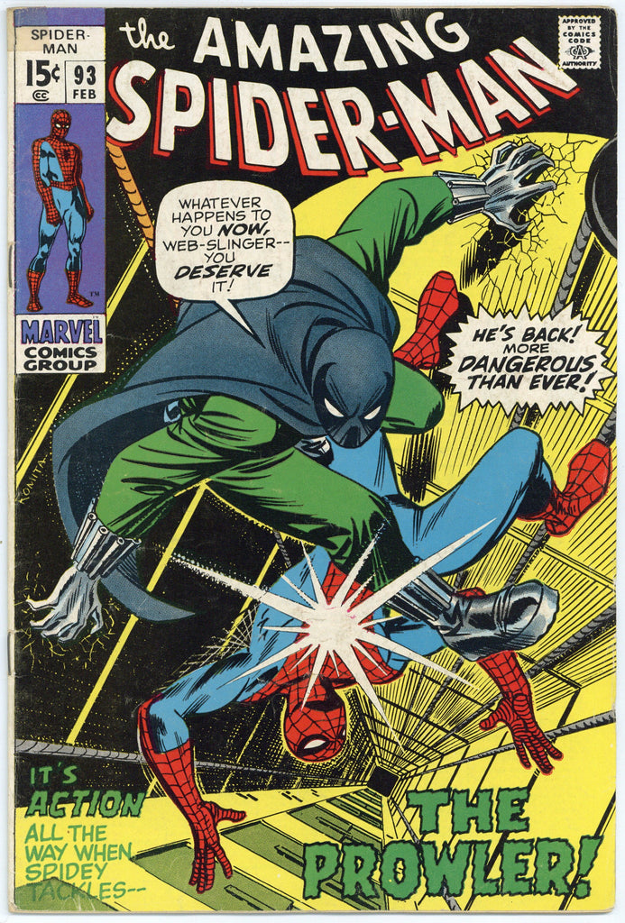 Colorado Comics - Amazing Spider-man #93 Fine-