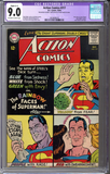 Action Comics #317 CGC 9.0 C-1 slight restoration