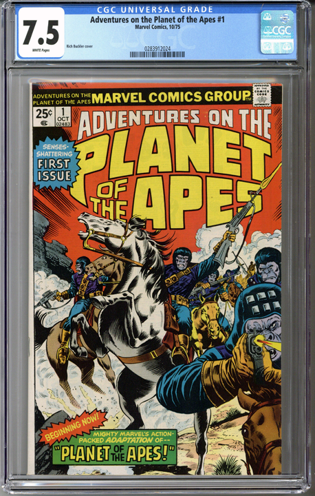 Colorado Comics - Adventures on the Planet of the Apes #1  CGC 7.5
