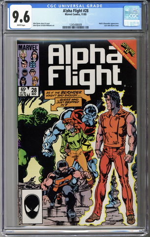 Colorado Comics - Alpha Flight #28 CGC 9.6
