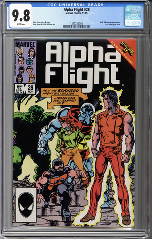 Colorado Comics - Alpha Flight #28 CGC 9.8