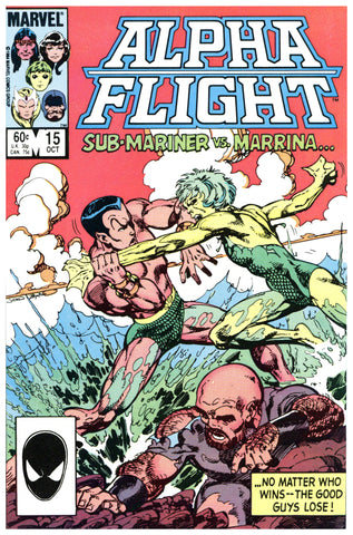 Alpha Flight #15 NM/MT