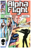 Alpha Flight #18 NM+
