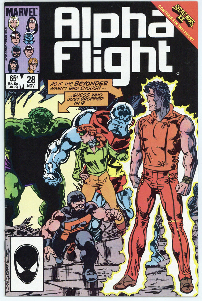 Colorado Comics - Alpha Flight #28 NM+