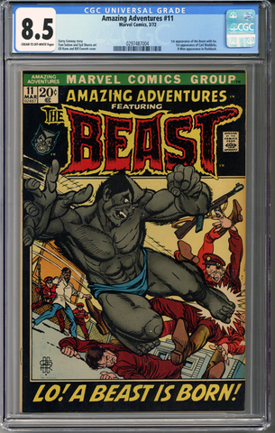 Colorado Comics - Amazing Adventures #11  CGC 8.5