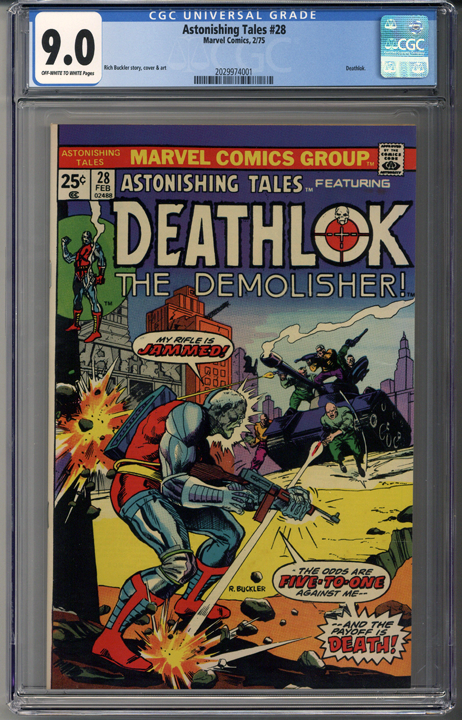 Astonishing Tales #28 CGC 9.0