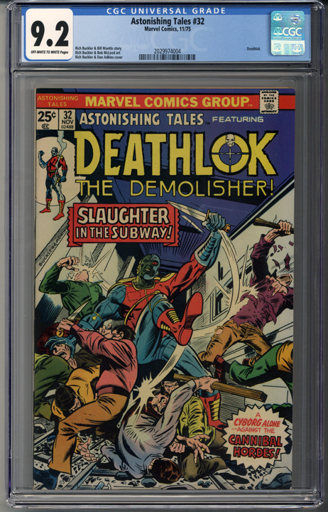 Astonishing Tales #32 CGC 9.2