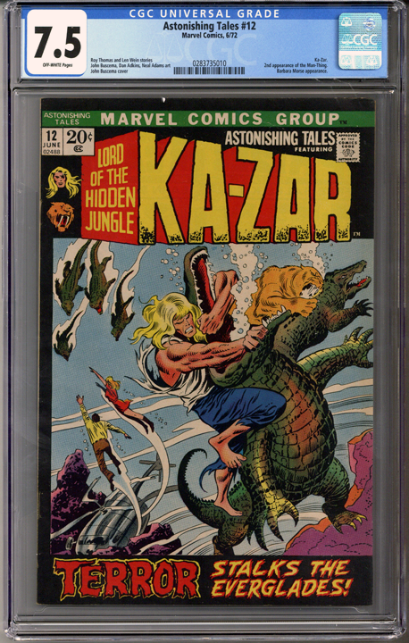 Colorado Comics - Astonishing Tales #12  CGC 7.5