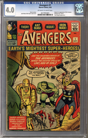 Colorado Comics - Avengers #1  CGC 4.0