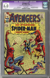 Colorado Comics - Avengers #11  CGC 6.0  C-1 slight restoration
