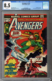 Colorado Comics - Avengers #116  CGC 8.5