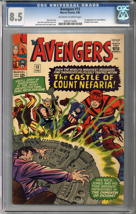 Colorado Comics - Avengers #13  CGC 8.5