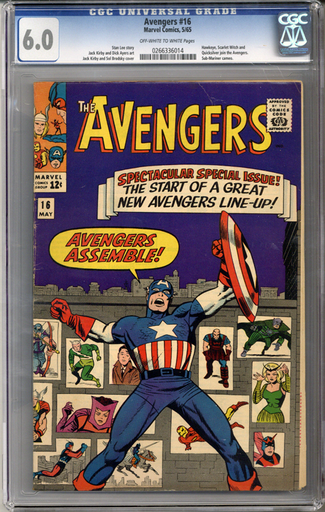 Colorado Comics - Avengers #16  CGC 6.0