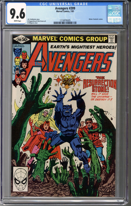 Colorado Comics - Avengers #209  CGC 9.6