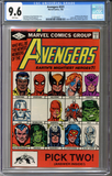 Colorado Comics - Avengers #221  CGC 9.6