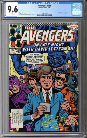 Colorado Comics - Avengers #239  CGC 9.6