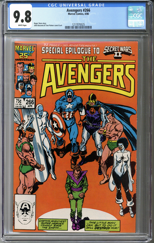 Colorado Comics - Avengers #266  CGC 9.8