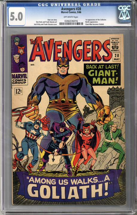 Colorado Comics - Avengers #28  CGC 5.0