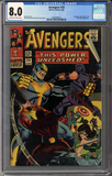Colorado Comics - Avengers #29  CGC 8.0
