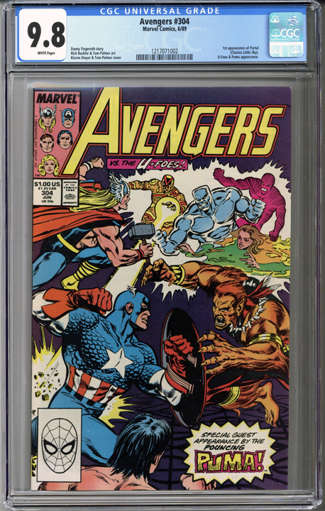 Colorado Comics - Avengers #304  CGC 9.8