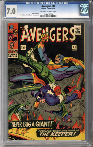 Colorado Comics - Avengers #31  CGC 7.0