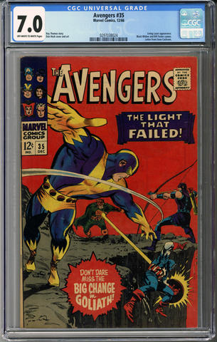 Colorado Comics - Avengers #35  CGC 7.0