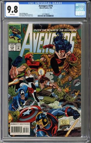 Colorado Comics - Avengers #370  CGC 9.8