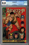 Colorado Comics - Avengers #38  CGC 8.0