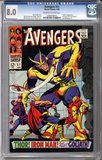 Colorado Comics - Avengers #51  CGC 8.0