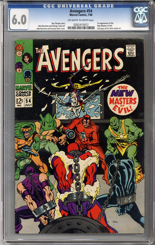 Colorado Comics - Avengers #54  CGC 6.0