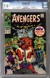 Colorado Comics - Avengers #54  CGC 7.0