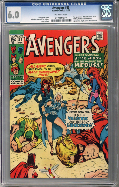 Colorado Comics - Avengers #83 CGC  6.0