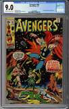 Colorado Comics - Avengers #84 CGC 9.0