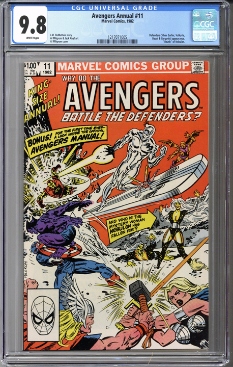 Colorado Comics - Avengers Annual #11  CGC 9.8