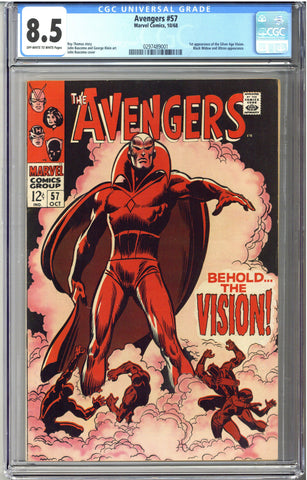 Colorado Comics - Avengers #57  CGC 8.5