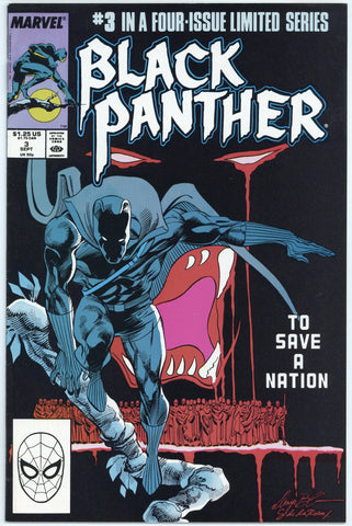 Black Panther Limited Series #3 VF/NM