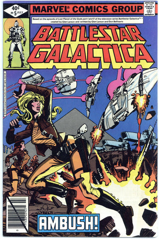 Battlestar Galactica #5 & 7 VF+ (2 books total)