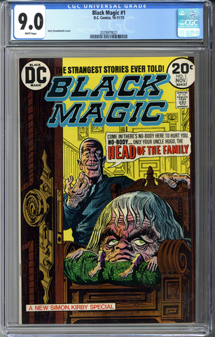 Black Magic #1 CGC 9.0