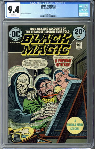 Black Magic #2 CGC 9.4