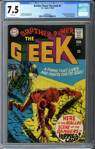 Brother Power The Geek #1 CGC 7.5